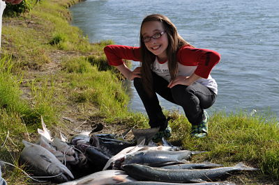 Alaska Salmon Fishing Cabins